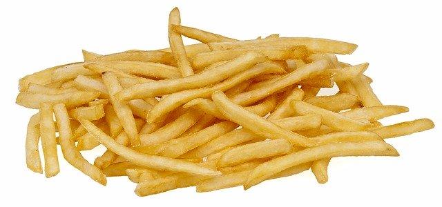 Trujące frytki z McDonald's