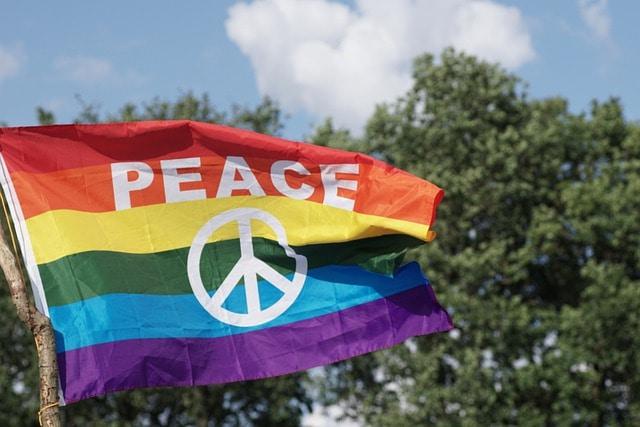 Pacyfka symbol hipisów