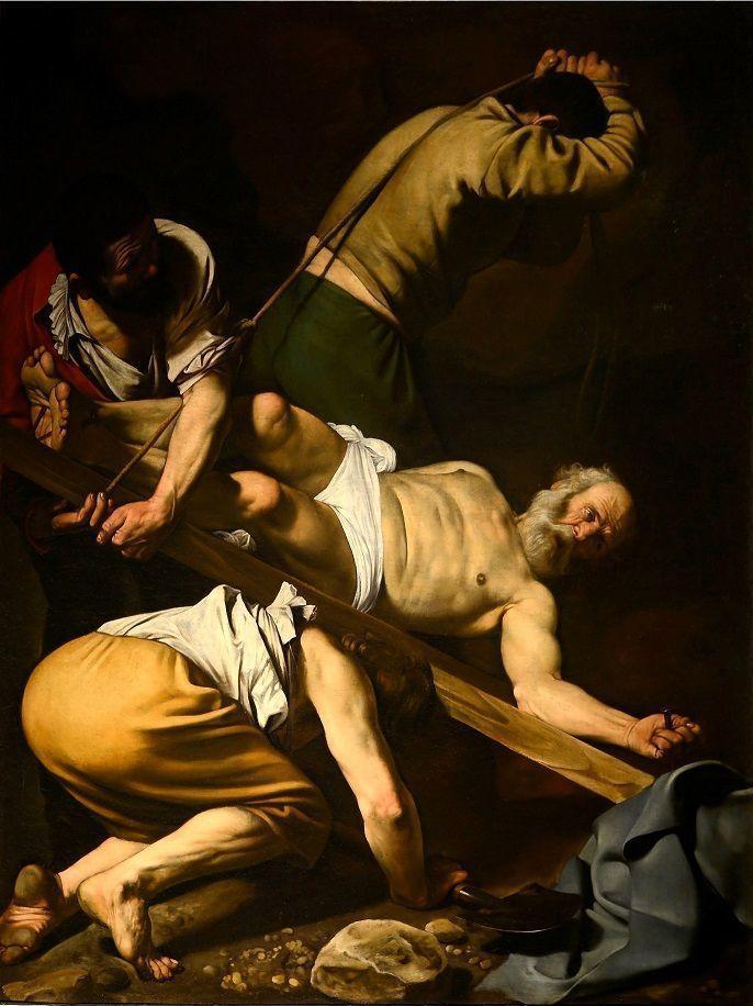 Ukrzyżowanie św. Piotra na odwróconym krzyżu