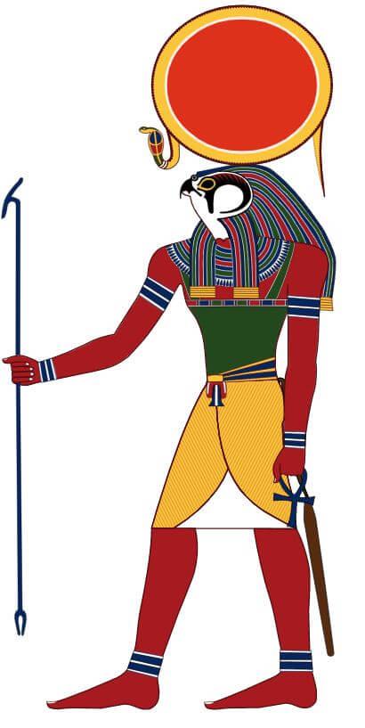 Egipski bóg słońca - Ra