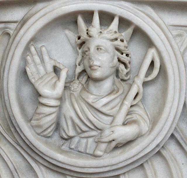 grecki bóg słońca - helios